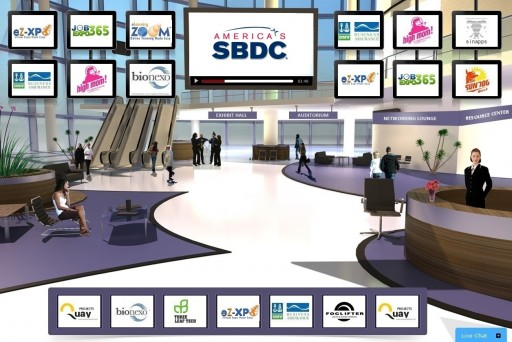 America's SBDC Joins Force With eZ-Xpo to Launch the World's 1st Virtual Expo Network for Small Businesses Nationwide